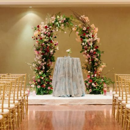 Richmond Hill Country Club featured in Claire and Anthony's Elegant Wedding at the Richmond Hill Cou…
