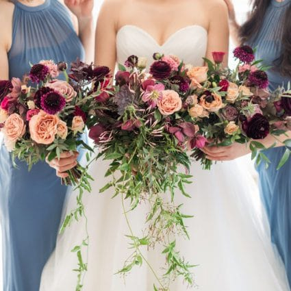 Flower 597 featured in Claire and Anthony's Elegant Wedding at the Richmond Hill Cou…