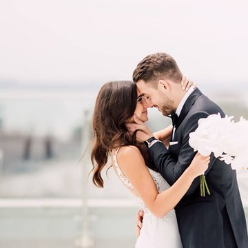 Marlee and Justin's Sophisticated Wedding at Hotel X Toronto