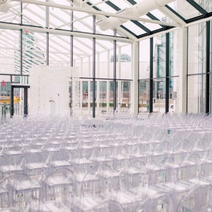 Hotel X Toronto featured in Marlee and Justin's Sophisticated Wedding at Hotel X Toronto