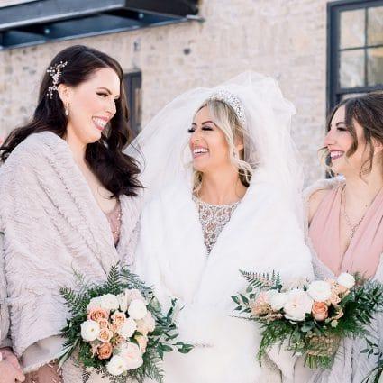 Thumbnail for Amanda and Mark's Stunning Winter Wedding at Elora Mill
