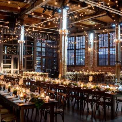 Steam Whistle Brewery featured in 8 Eco-Friendly Wedding Venues in the GTA
