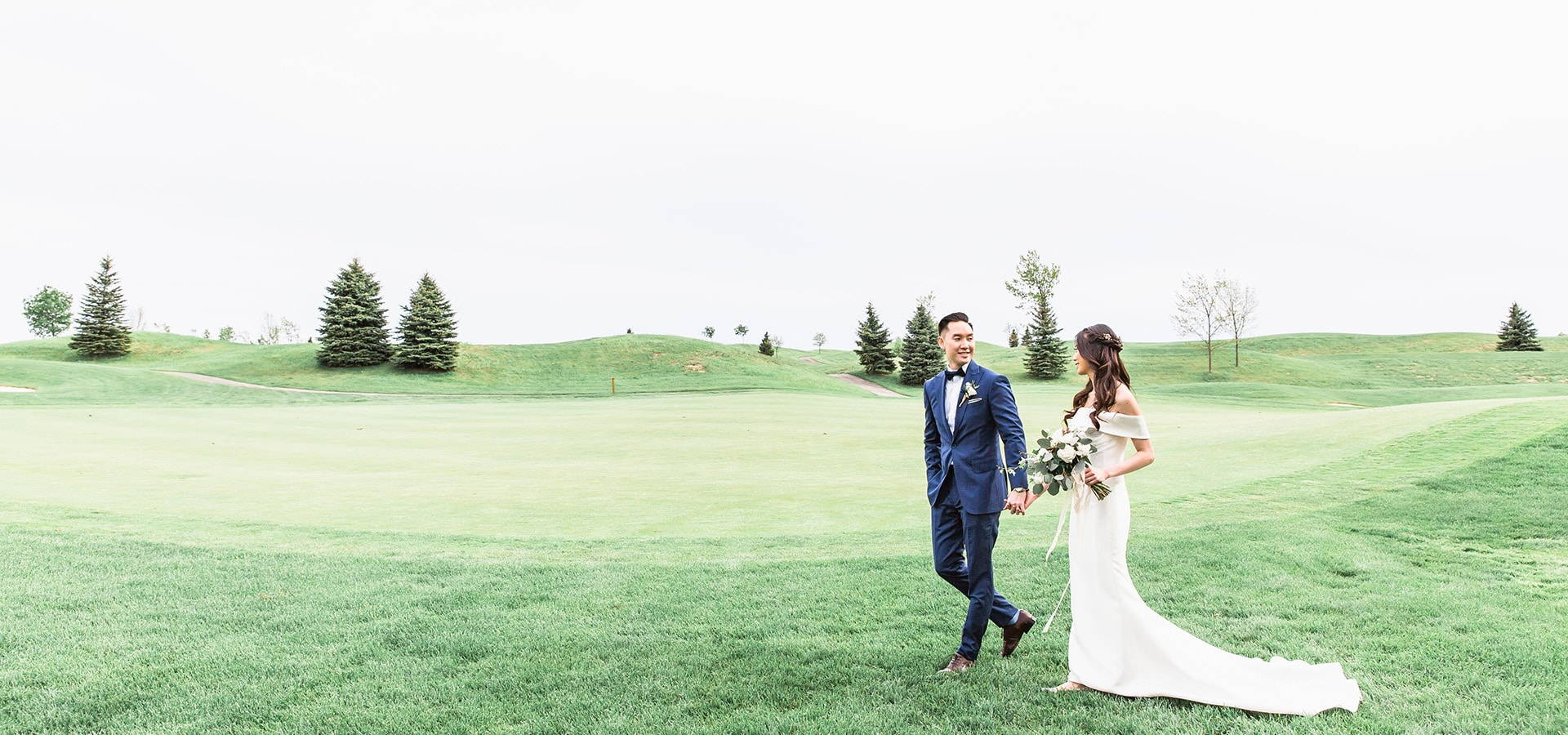 Hero image for Yvonne and Kevin's Sweet Whistle Bear Golf Club Wedding