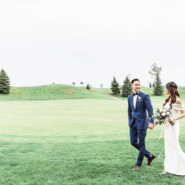 Yvonne and Kevin's Sweet Whistle Bear Golf Club Wedding