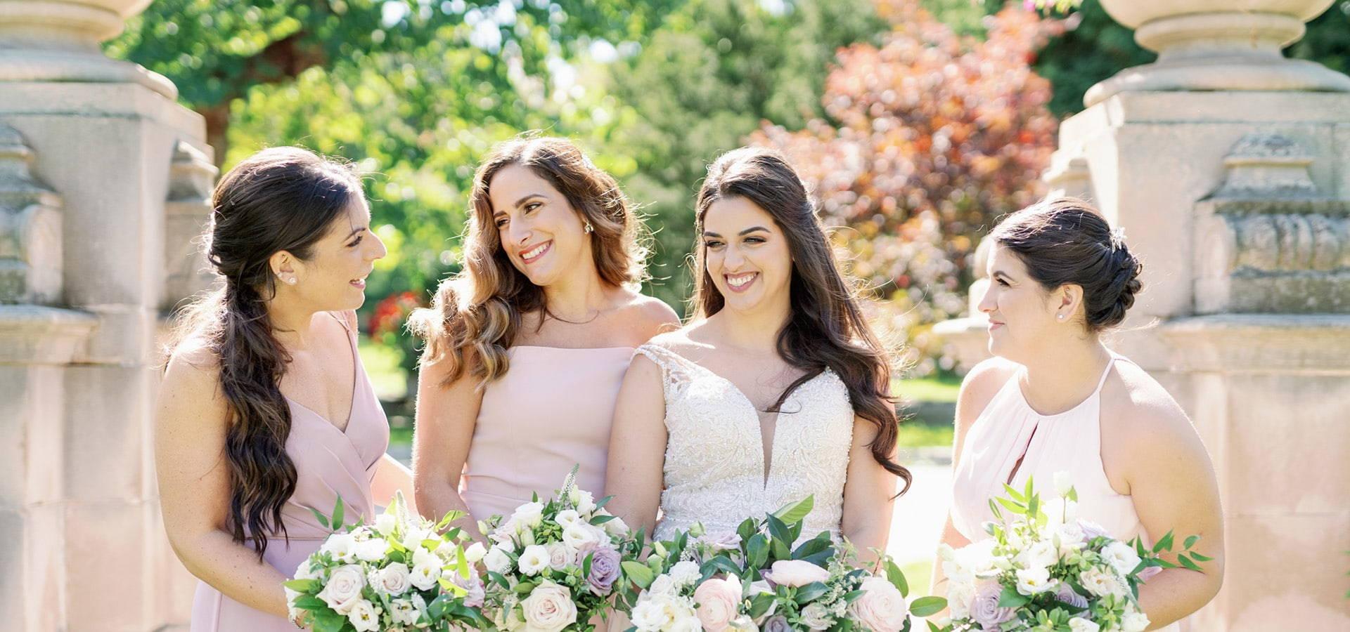 Hero image for Shari and Antonio's Luxe Wedding at York Mills Gallery