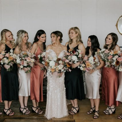 Hunt and Gather featured in Boho-Chic Meets Modern Elegance for Sofia and Joel's Big Day