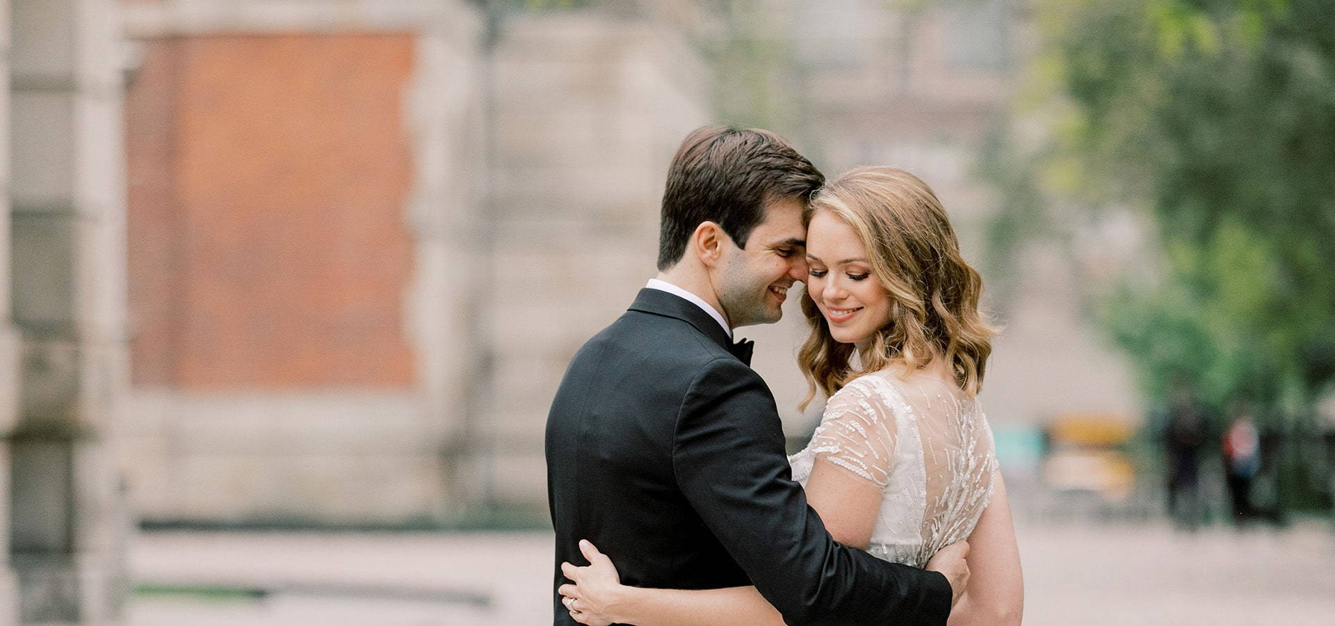 Hero image for Anna and Paul's Luxurious Wedding at the Globe and Mail Centre