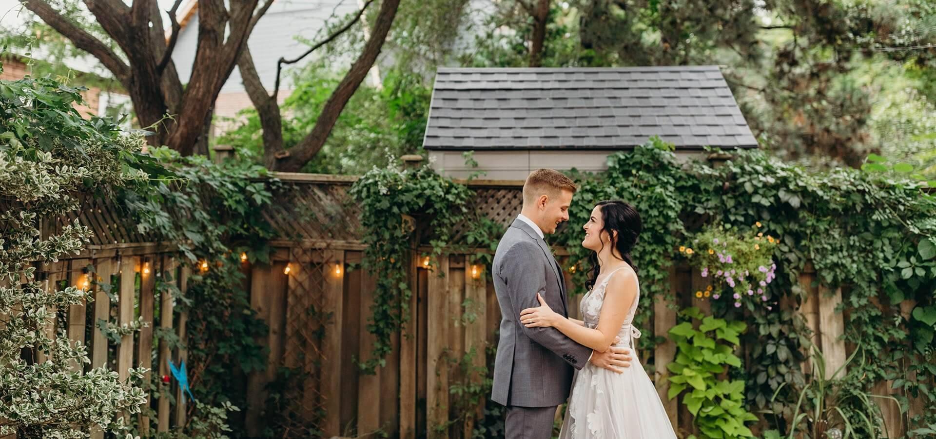 Hero image for 9 Tips for Planning a Fabulous Backyard Wedding
