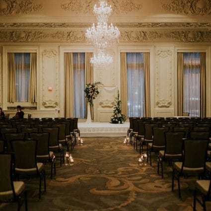 The King Edward Hotel featured in Alana and Brendon's Cozy-yet-Luxurious Wedding at The King Ed…
