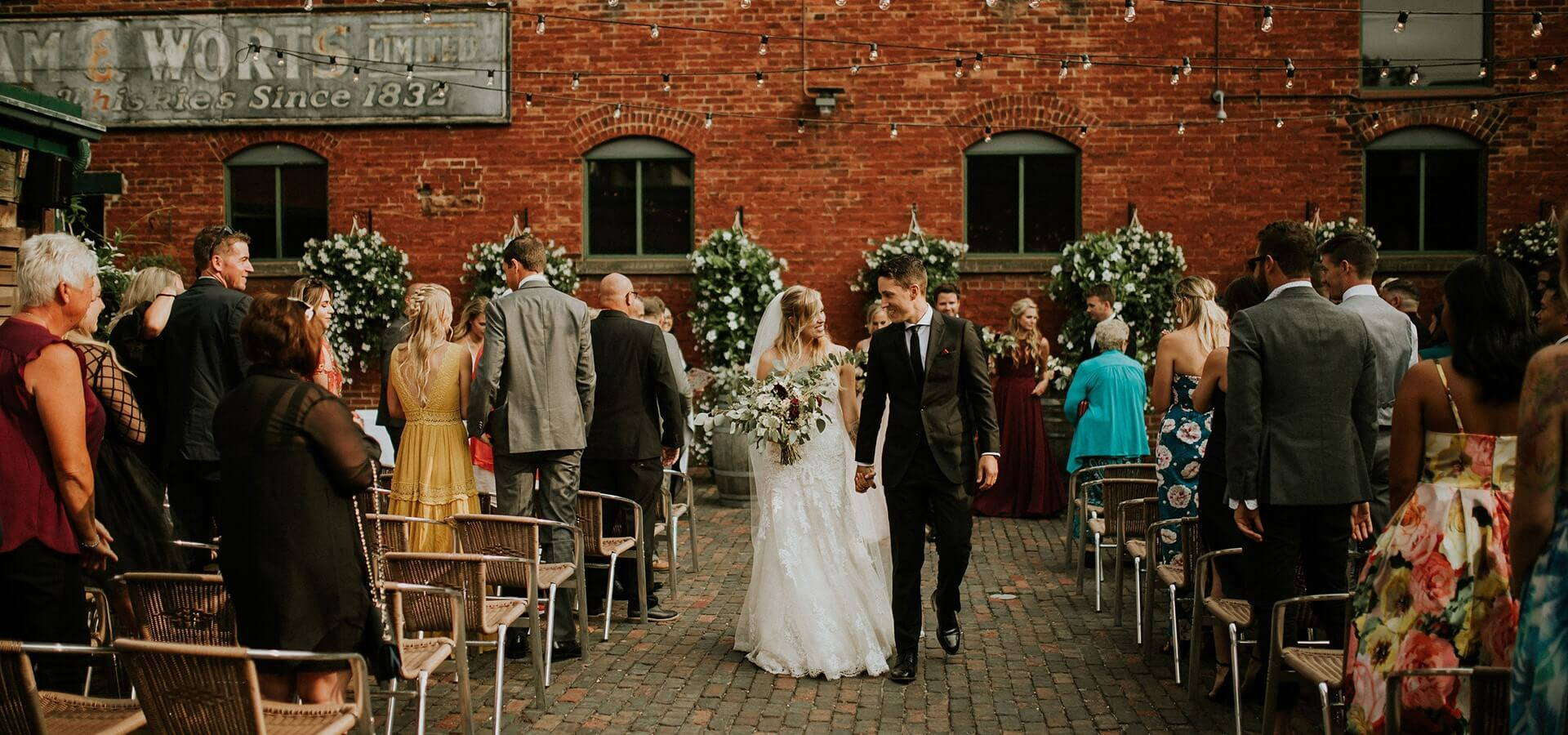 Hero image for Toronto Restaurants with Stunning Patios that are Perfect for Wedding Ceremonies