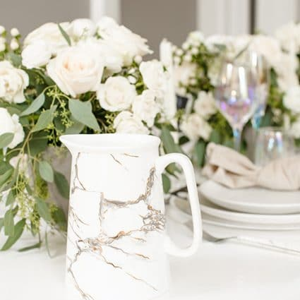 Table Tales featured in A Very Clean and Modern Editorial Shoot at the Alderlea