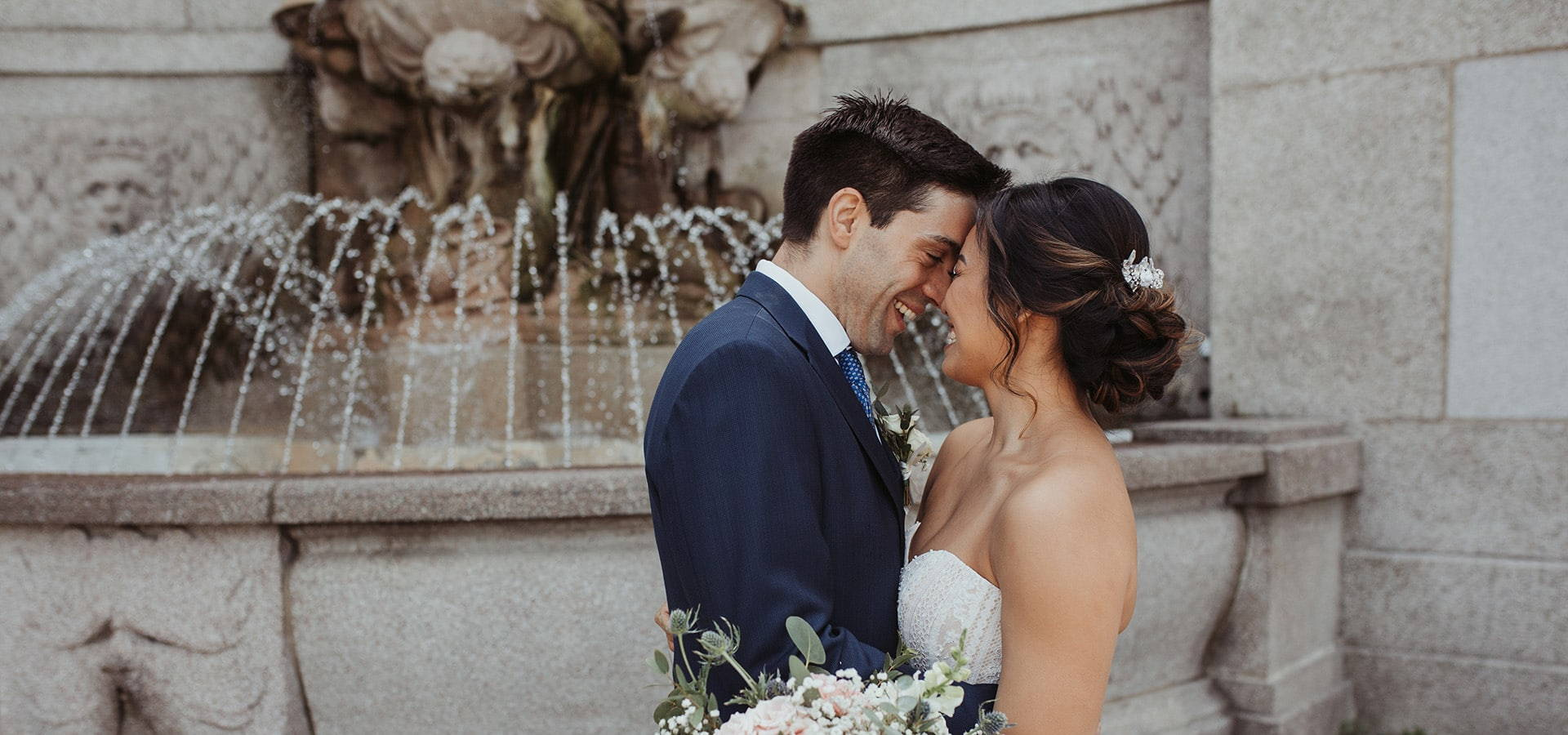 Hero image for Cindy and Giacomo's Rustically Romantic Wedding at Ovest