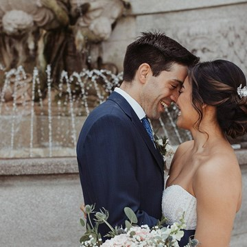Cindy and Giacomo's Rustically Romantic Wedding at Ovest