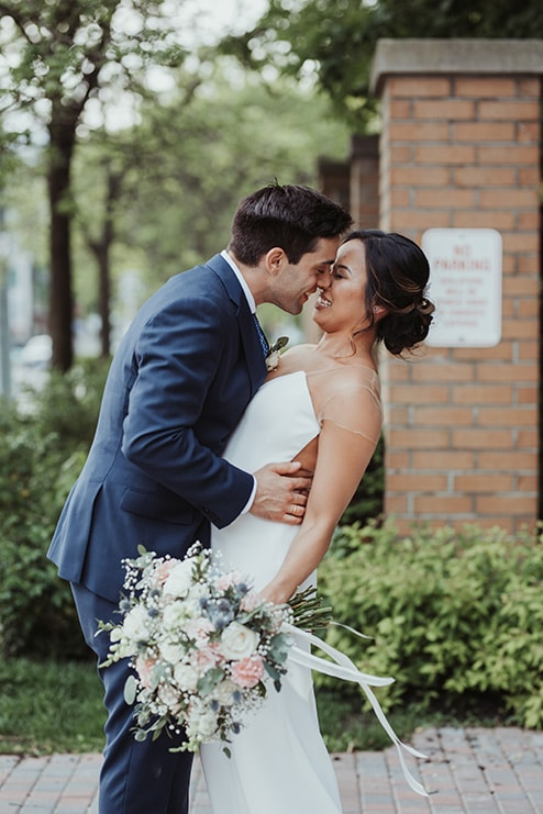 Wedding at Ovest, Toronto, Ontario, Lizzie O' Donnell, 11