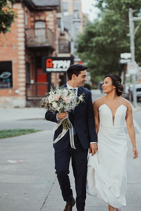 Wedding at Ovest, Toronto, Ontario, Lizzie O' Donnell, 12