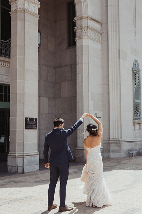 Wedding at Ovest, Toronto, Ontario, Lizzie O' Donnell, 19