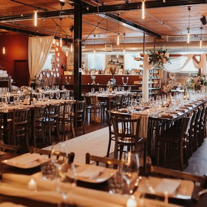 Ovest featured in Cindy and Giacomo's Rustically Romantic Wedding at Ovest
