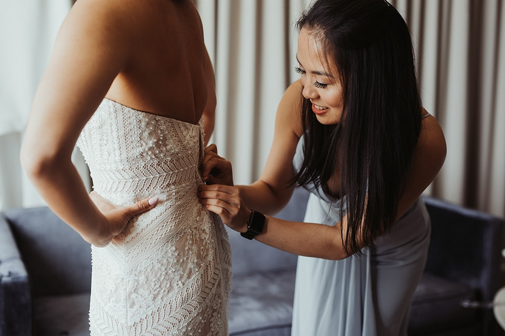 Wedding at Ovest, Toronto, Ontario, Lizzie O' Donnell, 3
