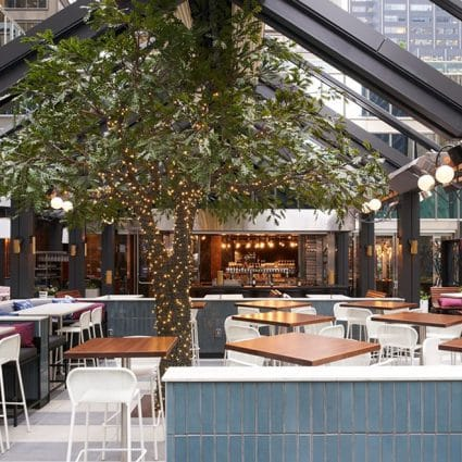 Earls Kitchen + Bar featured in 7 Toronto Restaurants with Stunning Patios that are Perfect f…