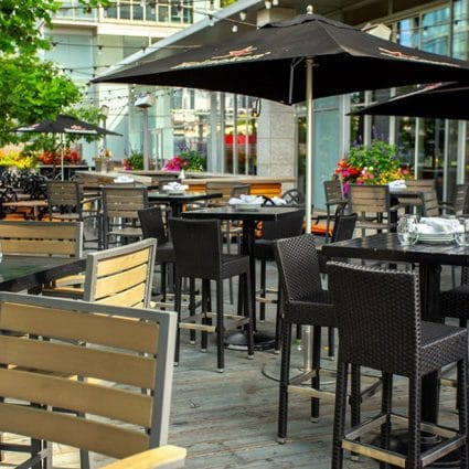 Hunters Landing featured in 7 Toronto Restaurants with Stunning Patios that are Perfect f…