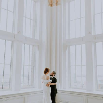 The King Edward Hotel featured in Sarah and Andrew's Enchanting Wedding at the King Edward Hotel