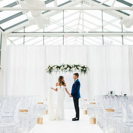 Fern Cohen Party Planning featured in Brittany and Michael's Beautiful Hotel X Wedding in Toronto