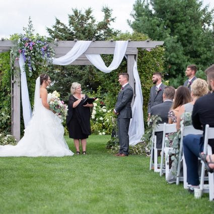 All Seasons Weddings featured in Erica and Rob's Rustically Elegant Wedding at Maple Meadow Farm