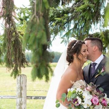 Erica and Rob's Rustically Elegant Wedding at Maple Meadow Farm