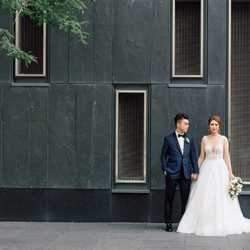 Jacqueline and Kenneth Fairy-tale Wedding at the Four Seasons