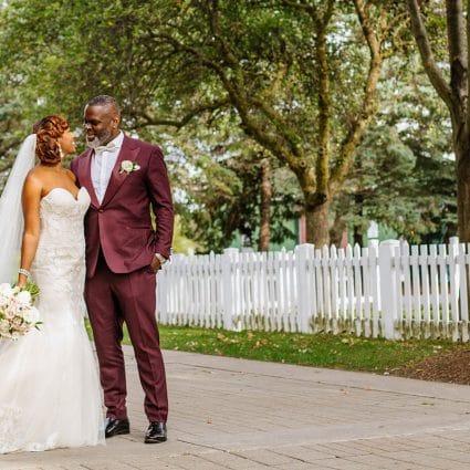 Thumbnail for Ayanna and Mark's Joyous Wedding at Hazelton Manor
