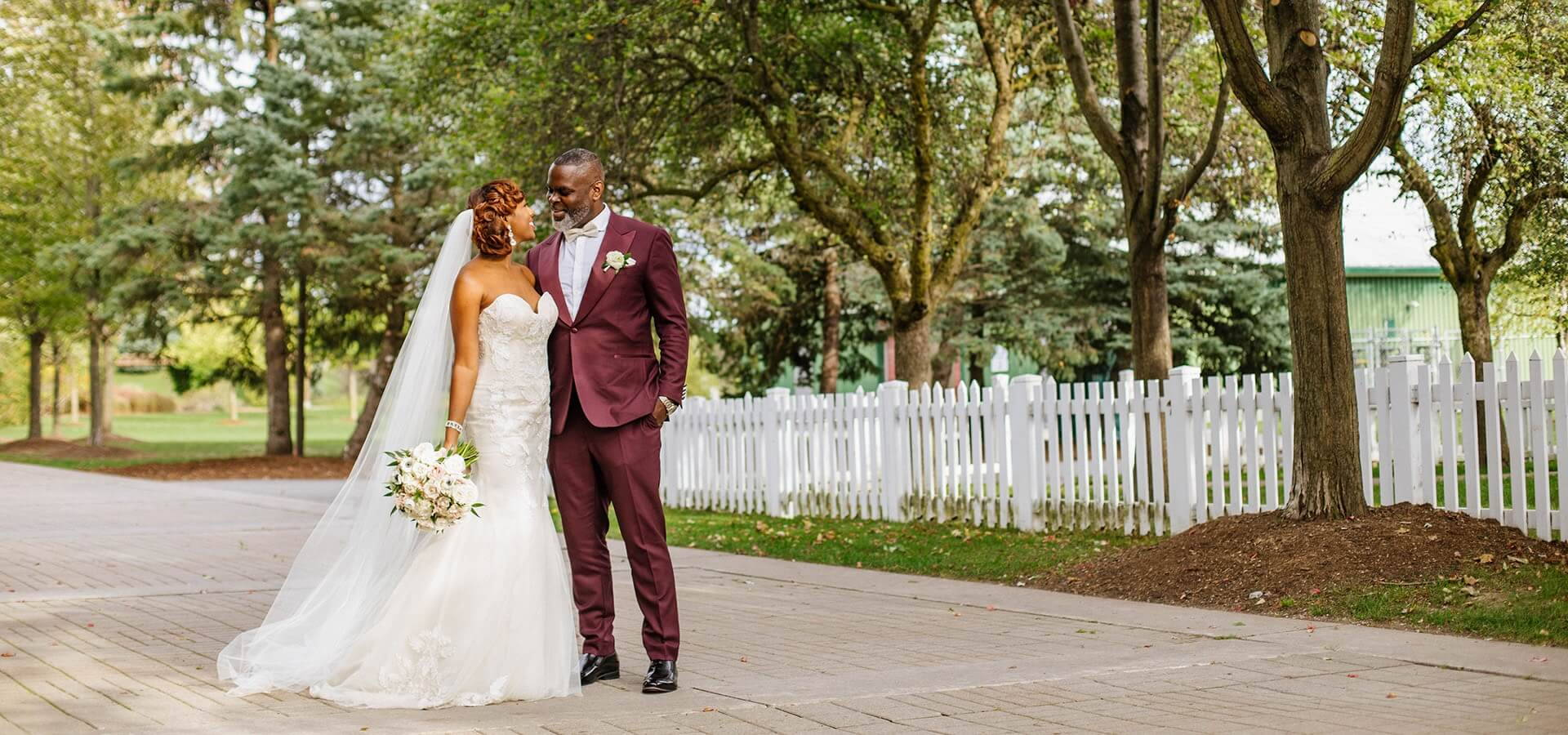 Hero image for Ayanna and Mark's Joyous Wedding at Hazelton Manor