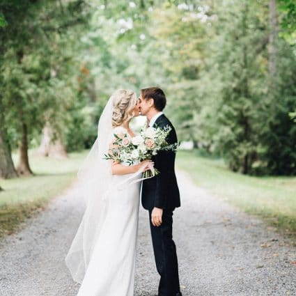 Simply Lace Photography featured in Lauren and Chris' Niagara-on-the-Lake Wedding at Kurtz Orchards