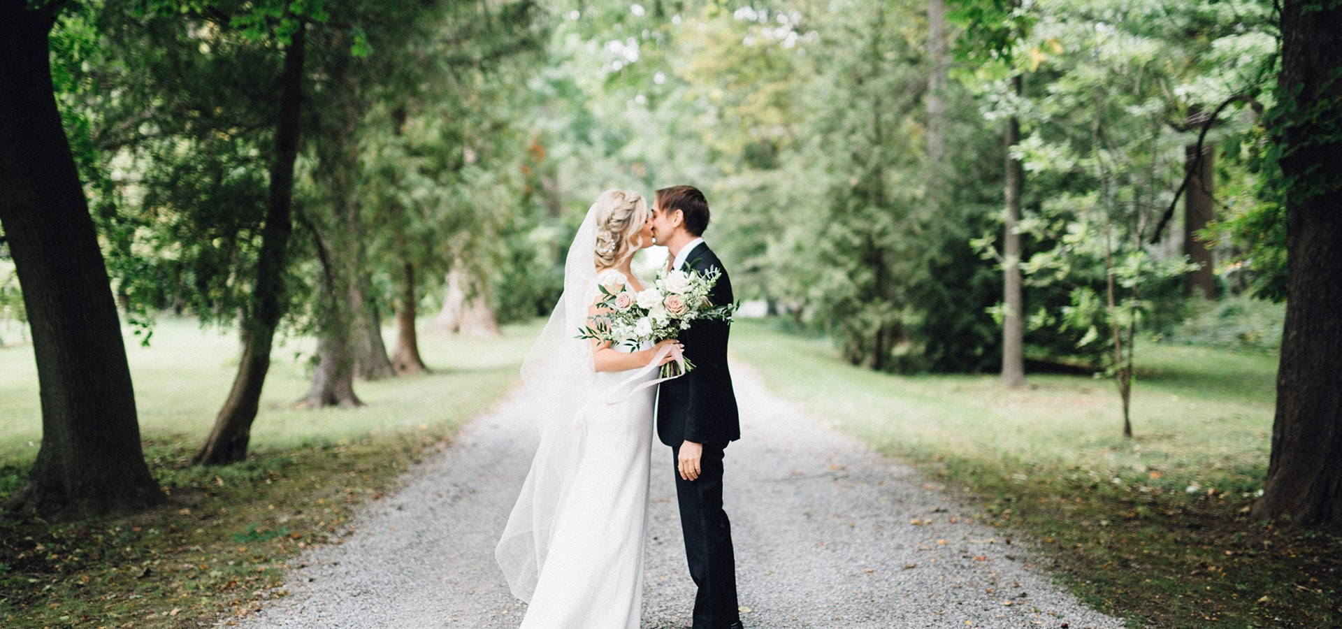 Hero image for Lauren and Chris' Niagara-on-the-Lake Wedding at Kurtz Orchards