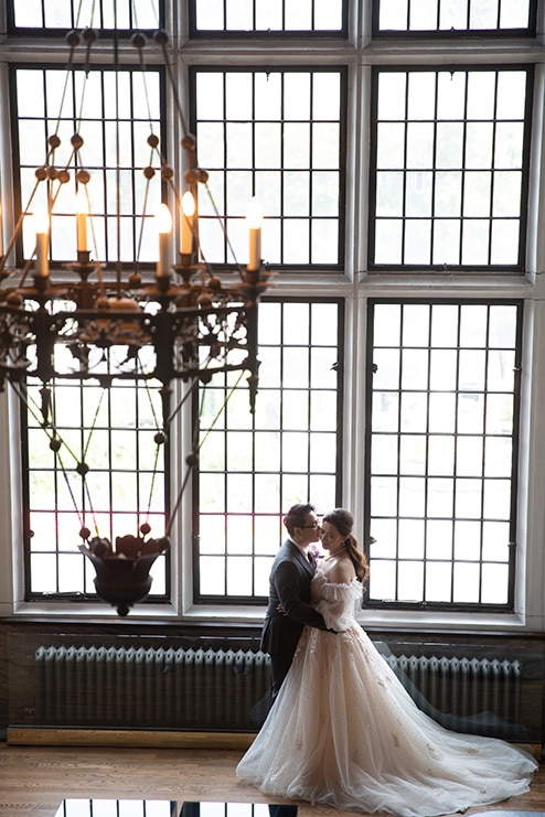 Wedding at Casa Loma, Toronto, Ontario, White by LaMemoir, 14