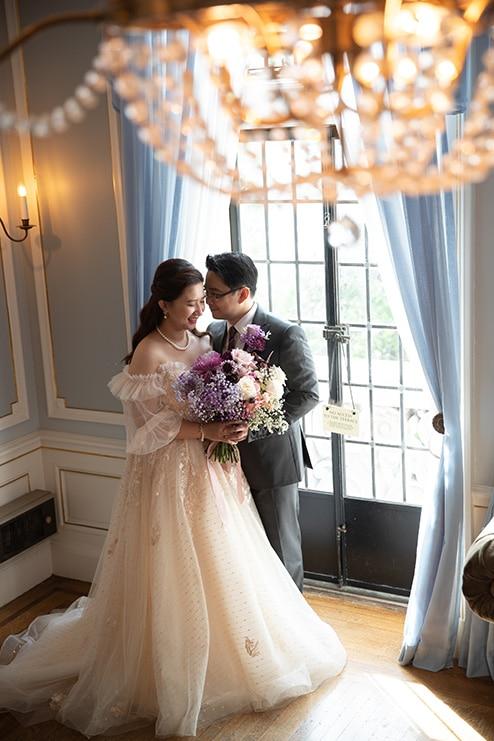 Wedding at Casa Loma, Toronto, Ontario, White by LaMemoir, 15