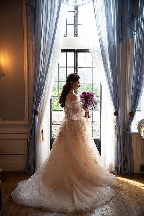 Wedding at Casa Loma, Toronto, Ontario, White by LaMemoir, 5