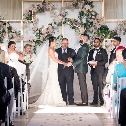 Enduring Promises featured in Autumn and Ajay's Luxurious Wedding at The Guild Inn Estate