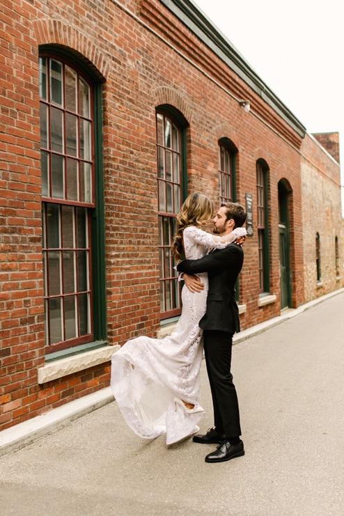 Wedding at 99 Sudbury Event Space, Toronto, Ontario, Lindsie Grey, 16