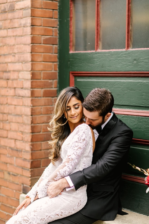 Wedding at 99 Sudbury Event Space, Toronto, Ontario, Lindsie Grey, 17