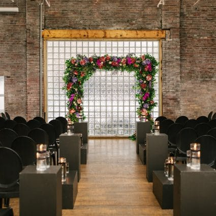 R5 Event Design featured in Jaspreet and Chris' Cozy-Chic Wedding at 99 Sudbury Event Space
