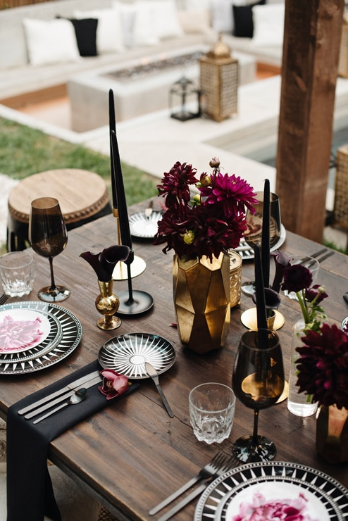 a luxurious backyard party, 9