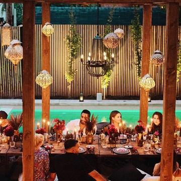 A Luxurious Backyard Birthday Party that Won't Soon Be Forgotten