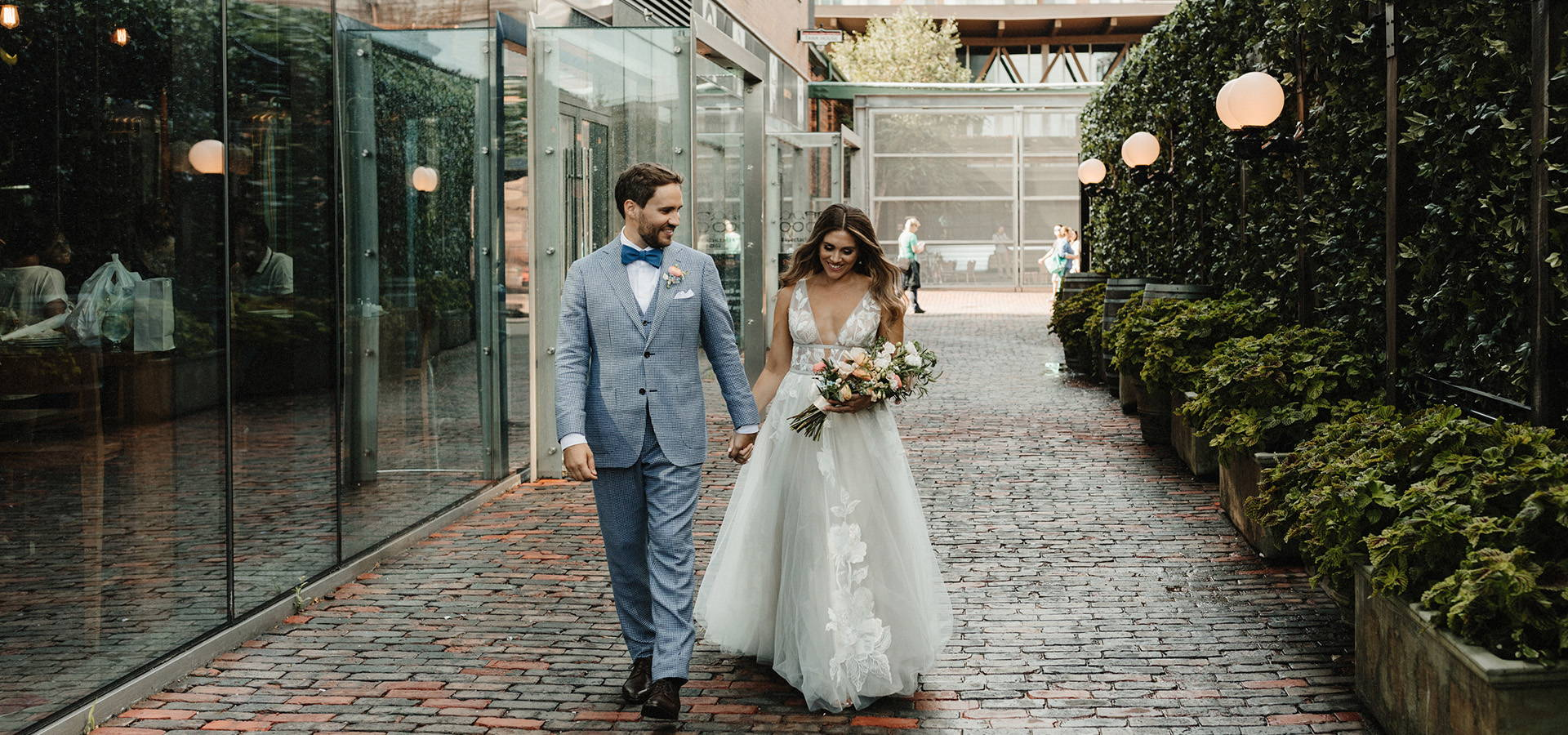 Hero image for Cammie and Ryan's Romantic Summer Wedding at Archeo
