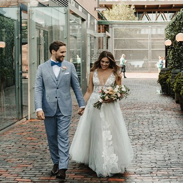 Cammie and Ryan's Romantic Summer Wedding at Archeo