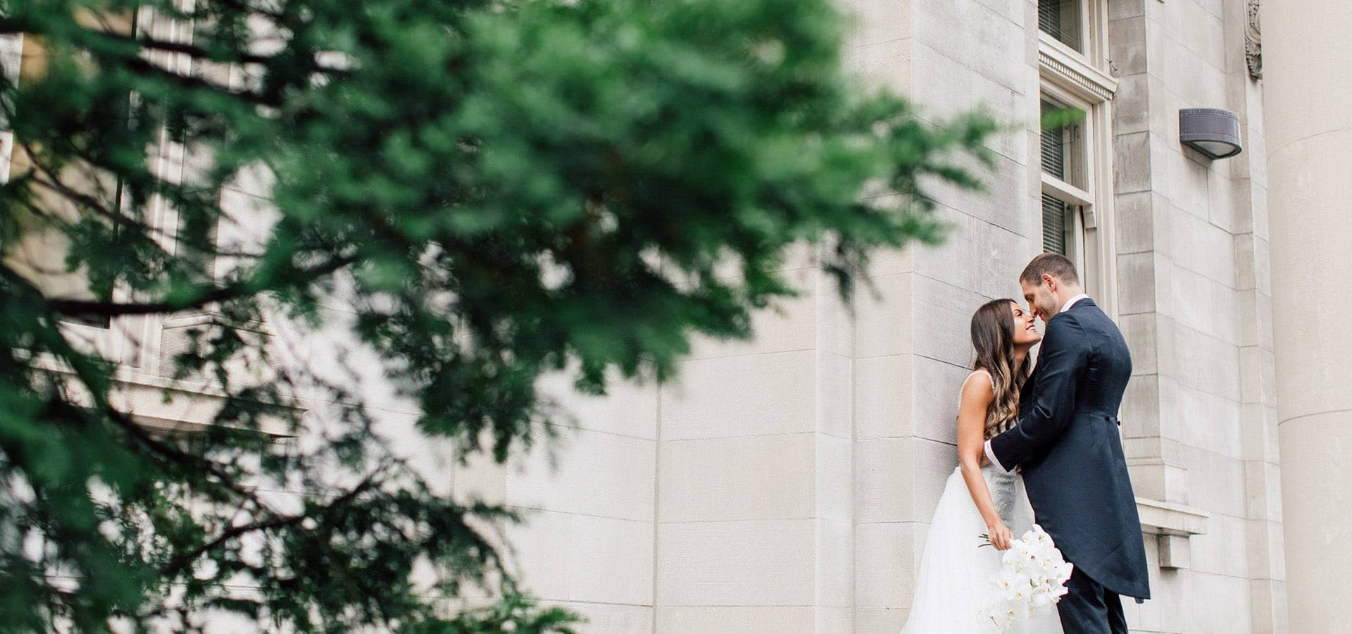 Hero image for Amanda and Adam's Luxurious Wedding at the Four Seasons Hotel
