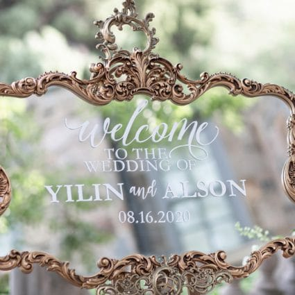 Glamourous Affairs featured in Yilin and Alson's Summer Nuptials Amidst the COVID-19 Pandemic