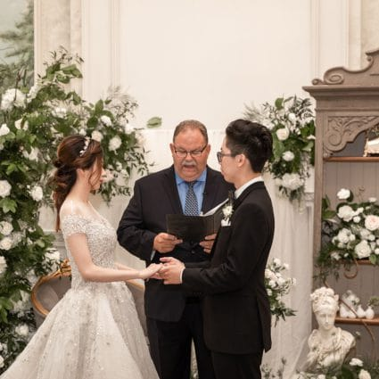 Enduring Promises featured in Yilin and Alson's Summer Nuptials Amidst the COVID-19 Pandemic