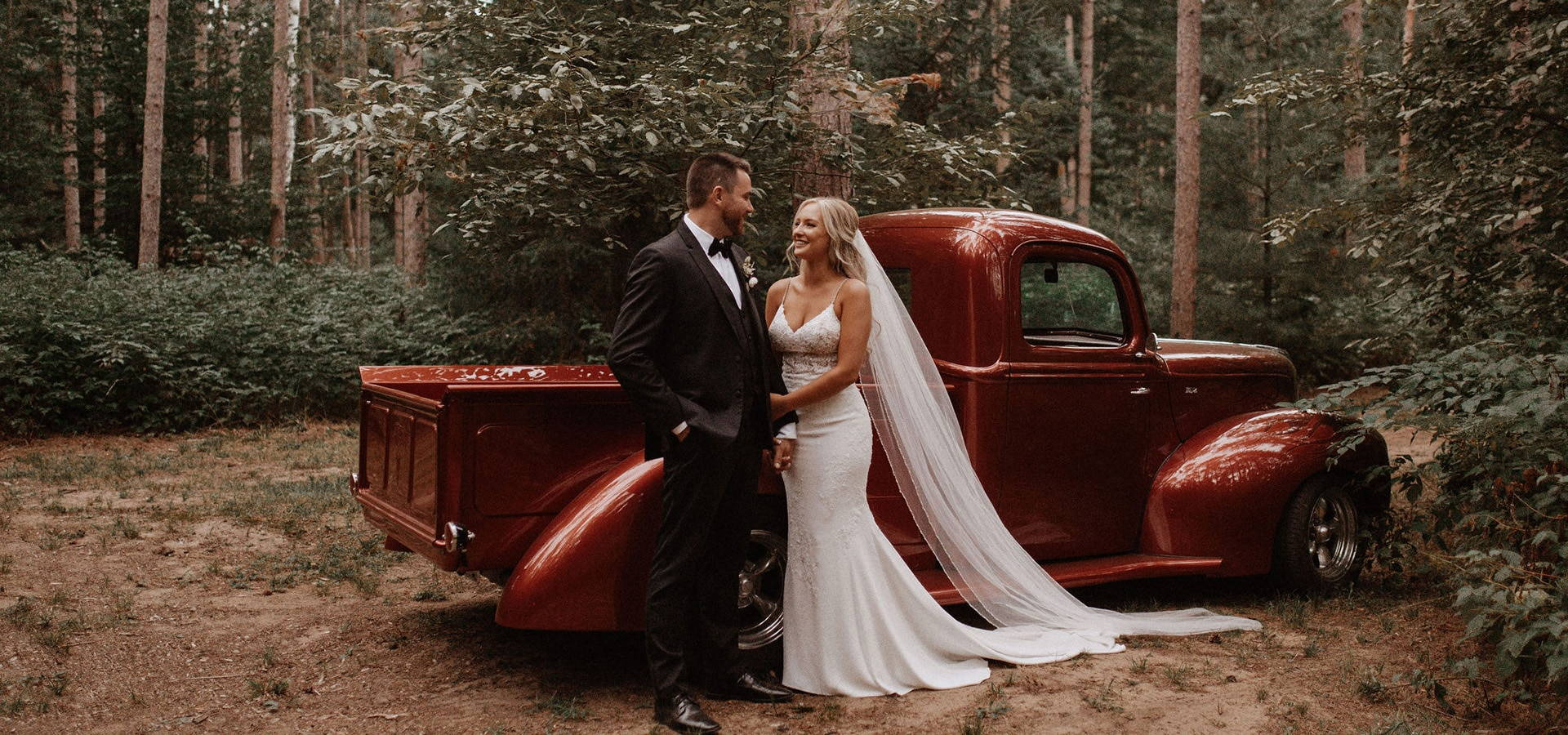 """Hero image for Willa and Z say """"I Do"""" in a Stunning Backyard Wedding"""