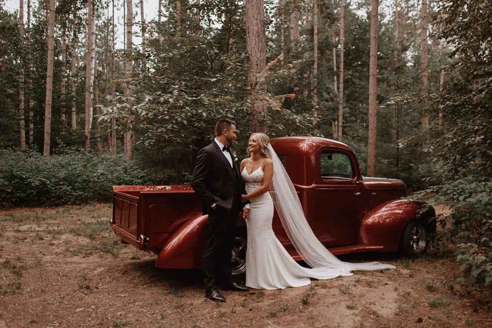 Stunning Backyard Wedding
