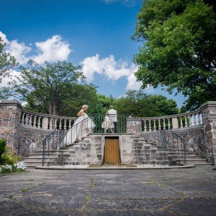 Graydon Hall Manor featured in Yuliya and Gary's Lush Wedding at Graydon Hall